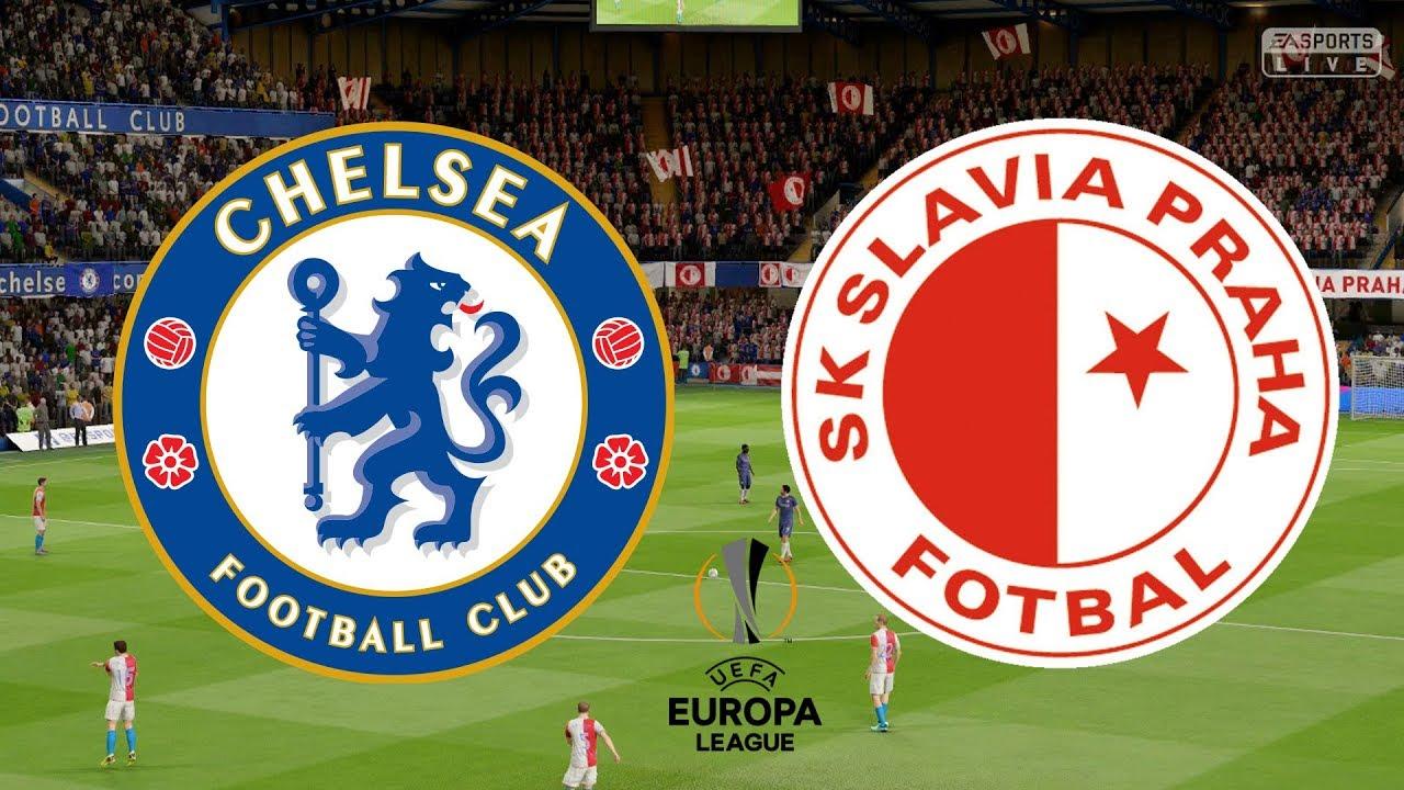 Image result for slavia prague vs Chelsea