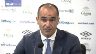 Roberto Martinez praises Simon Mignolet and James McCarthy