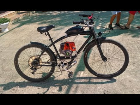Bicicletta Con Motore 4 Tempi