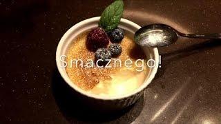 Najlepszy przepis na waniliowe crème brulée