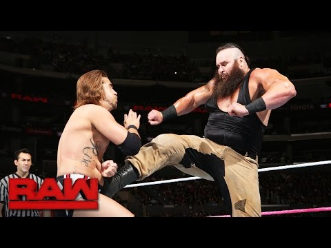Braun Strowman vs. Chase Silver: Raw, Oct. 3, 2016