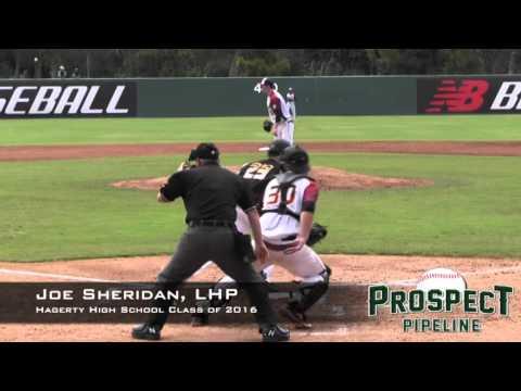 Joe Sheridan Prospect Video, LHP, Hagerty High School Class of 2016
