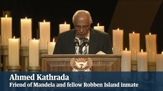 Nelson Mandela funeral: fellow Robben Island prisoner
