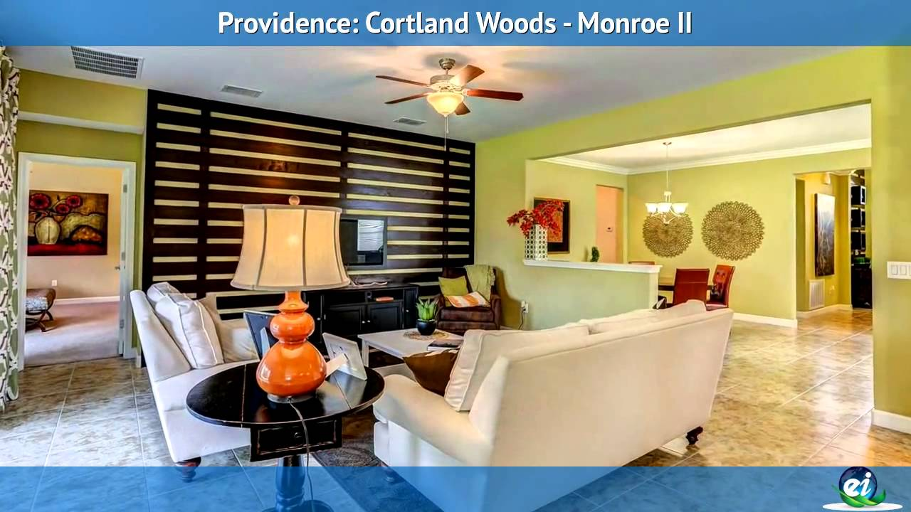 Lennar Orlando's Monroe II Model In Courtland Woods At