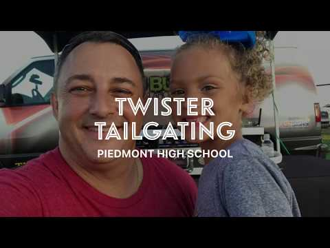 @TheBuffShow - Twister Tailgating at Piedmont High School!!!