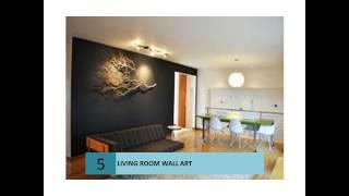 Living Room Wall Ideas Art
