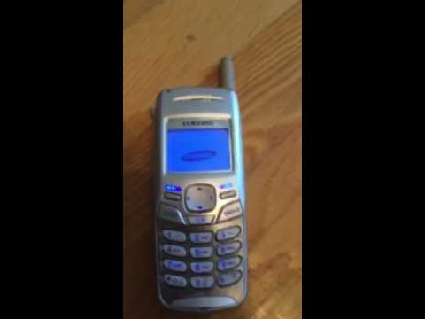 Samsung SCH N370 Retro Review! Brick Phone from 2002!!!