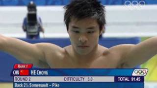 Olympic Diving Mens 3m 2008