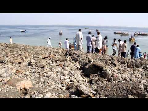 NASA Video - Walking on the Newly Emerged Island in Pakistan