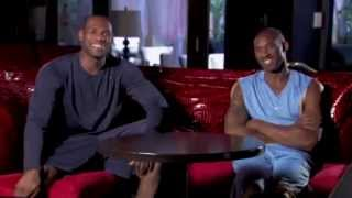 Repeat youtube video Kobe Bryant and LeBron James - Mutual Respect
