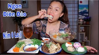 🇯🇵Ngon Điên Đảo Bánh Canh Gà Nấu Nấm & Mochi Kitty Siêu Cute Hột Me #334