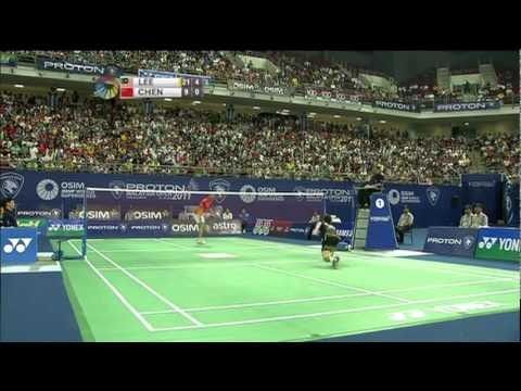 SF - MS - Lee Chong Wei vs Chen Long - 2011 Proton Malaysia Open