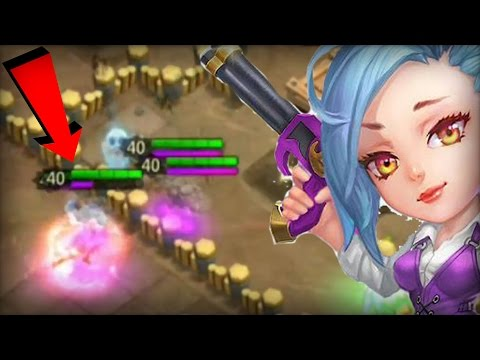 Castle Clash : New Hero War Rose Gameplay SHE IS REALLY KILLING IT!
