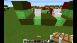 механический поезд в Minecraft без модов!!!