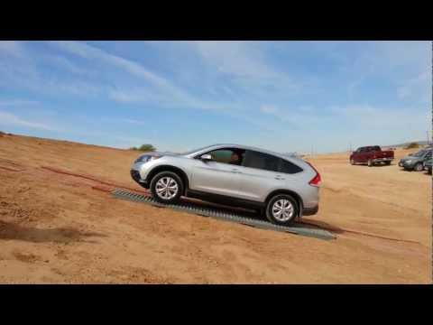 2013 Honda CRV AWD - Fail! It just can't get a grip.