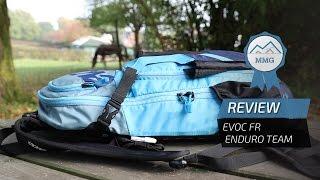 vuclip EVOC FR Enduro Team backpack review: integrated back protector