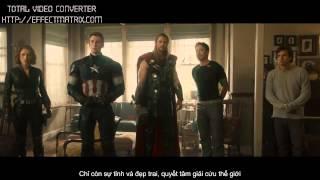 "Marvel's Avengers - Age of Ultron Trailer 3 vietsub ""nghiêm túc"""