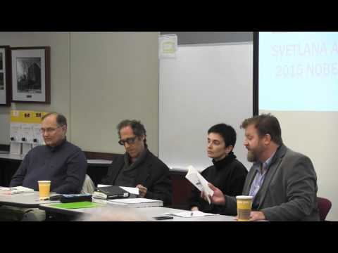 Faculty Round Table - Penn State's Comparative Literature Luncheon Series (12/7/15)