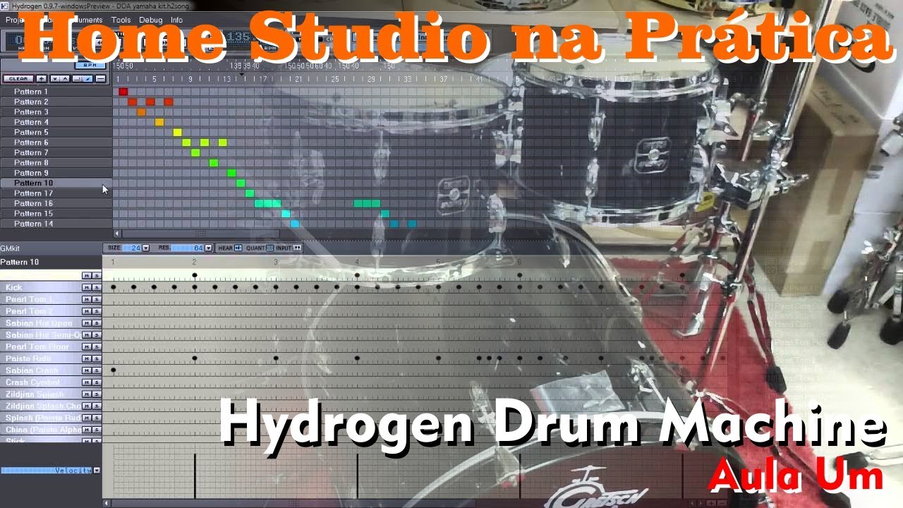 m o na massa 002 hydrogen drum machine aula 2 youtube. Black Bedroom Furniture Sets. Home Design Ideas