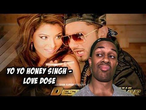 Exclusive- LOVE DOSE Full Video Song | Yo Yo Honey Singh, Urvashi Rautela | Desi Kalakaar REACTION