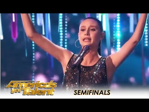 Makayla Phillips: Teen Rising Star Delivers STUNNING Performance! | America's Got Talent 2018