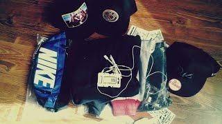Розпакування Посилки #13 Unboxing SnapBack Brixton, Vans, R16, Stussy, Навушники Apple