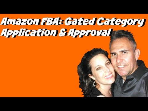 Amazon FBA Gated Category Application and Approval