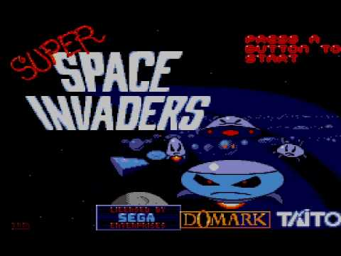 Super Space Invaders Master System Title Music