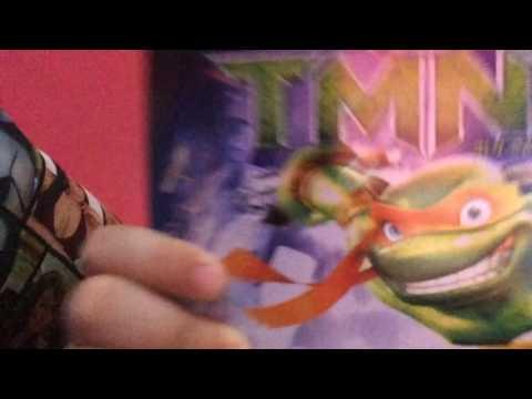 My ninja turtles dvd collection