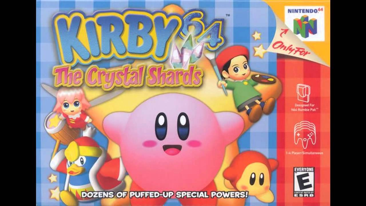kirby 64 the crystal shards galaxy world map