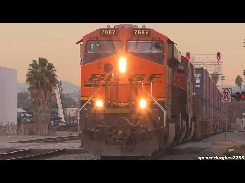 Amtrak, BNSF, Union Pacific & Metrolink Trains (12/28/14)
