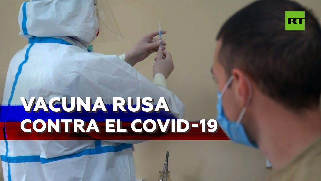 La vacuna de Rusia contra el covid-19 es segura