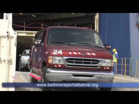 "Roll On/Roll Off (RoRo) Cargo - ""Baltimore: Port of Opportunity"""
