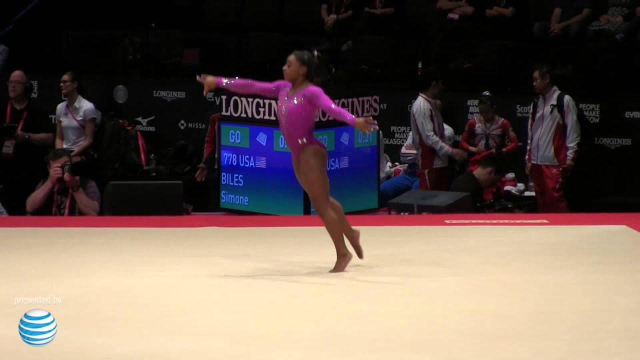 Simone Biles Floor World Championships Event Finals