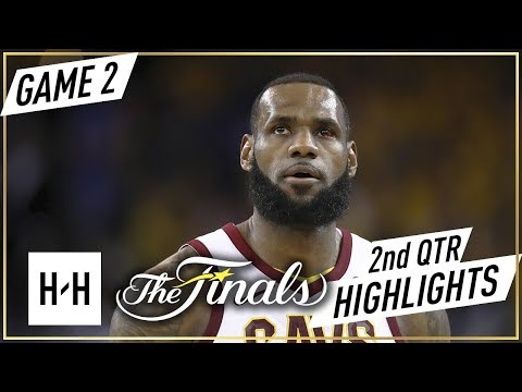 Cleveland Cavaliers vs Golden State Warriors - Game 2 - 2nd Qtr Highlights - 2018 NBA Finals - 동영상