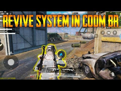 Call Of Duty Mobile *REVIVE System In Battle ROYALE Mode | Same As APEX LEGEND - Revive PLANE In BR