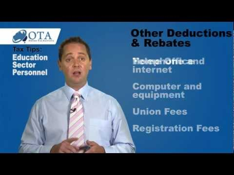 Deductions for Teachers | Online Tax Australia