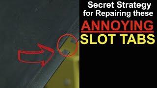 How to Repair a Slot Tab on a Bumper (Nitrogen Plastic Welding)