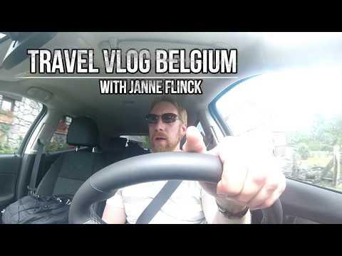 Travel Vlog 4 (ROAD TRIP to HASSELT) babl-a-vlog / Belgium