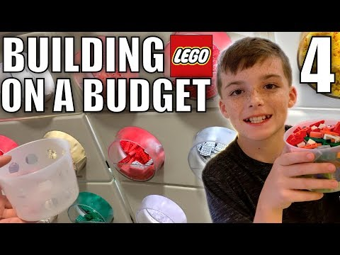 BUILDING LEGO ON A BUDGET 4!
