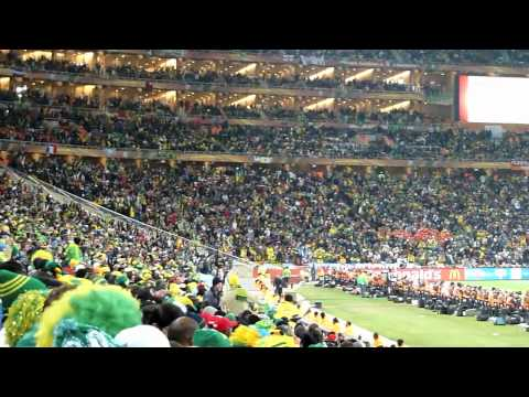 La Ola (Mexican Wave) during Brazil vs Ivory Coast South Africa 2010 World Cup - Soccer City Stadium