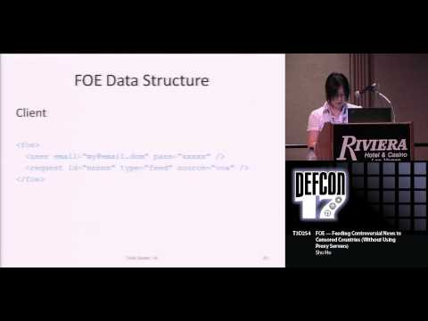 DEF CON 17 Hacking Conference Presentation By Sho Ho - FOE F