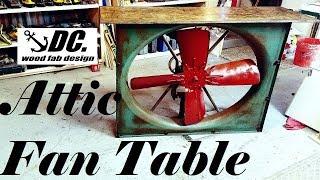 DC. INDUSTRIAL ATTIC FAN TABLE