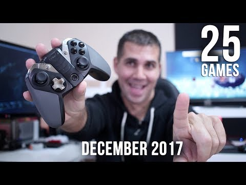5 BEST ANDROID GAMES | GAMEPAD & TV BOX | December 2017