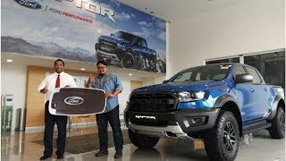 Man bought a Ford Ranger, wins a Ford Ranger Raptor | CAR NEWS 2019