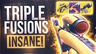 "Destiny THE TRIPLE FUSION CHALLENGE - ""VEX MYTHOCLAST"" Exotic Fusion Challenge"