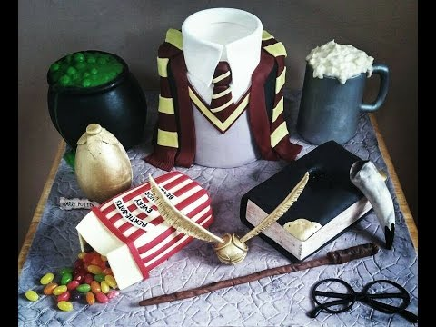 The Ultimate Harry Potter Cake Tutorial