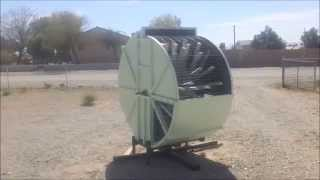 Baker Turbo-Vortex Wind Turbine Turbina