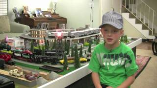 2011 Lionel Train Fastrack Layout