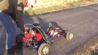 Homelite Chainsaw Twin Engine Go Kart